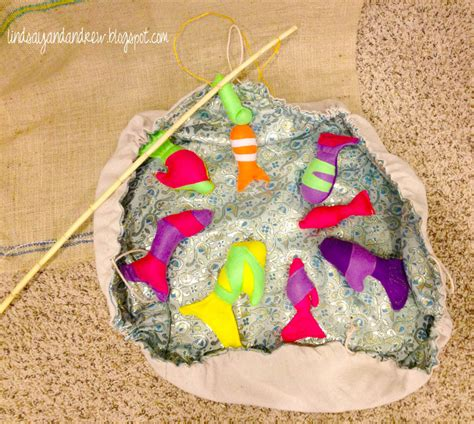pond crafts for felt magnetic fish and cinch sack pond family crafts