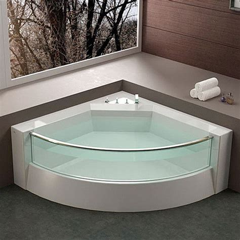 bathtubs for small spaces modern corner shower bathtub design ideas room