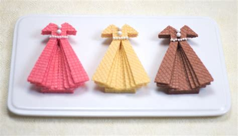 fabulous diy sugar wafer dress cookies to make with