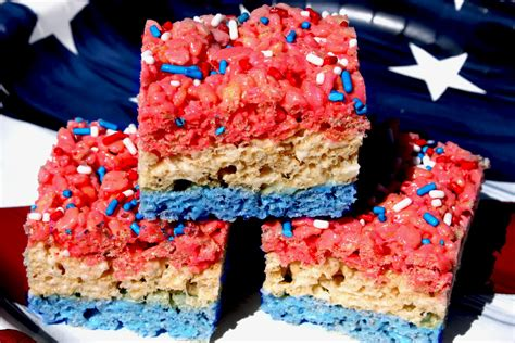 blue treats the recipe nut best recipes and cooking ideas white and blue rice krispie treats