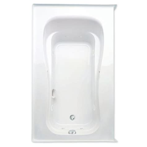 whirlpool bathtub heater aquatic novelli 5 ft acrylic left drain rectangular apron