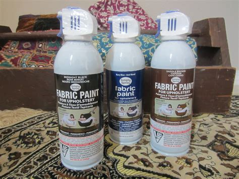 fabric paint upholstery simply spray fabric paint diy inspired