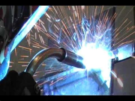 weld   mig bend test plate part  youtube