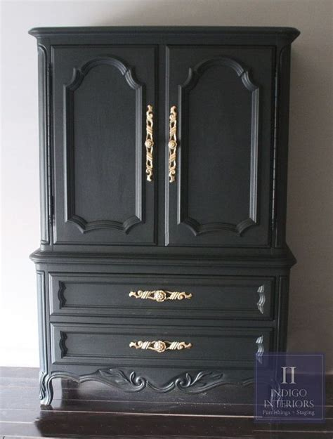 tall bedroom chest black and gold french provincial tall dresser chest