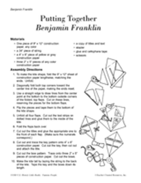 benjamin franklin biography worksheet benjamin franklin little book printable k 3rd grade