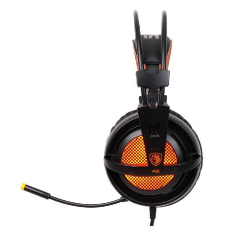 Headset Sades A6 sades a6 usb 7 1 surround sound professional gaming headset headphone for pc lol cad 29 47