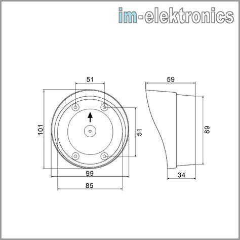 Ls Z1 wetterschutzkappe f 252 r rund reflektoren imls 3 z1 ls 3 z1