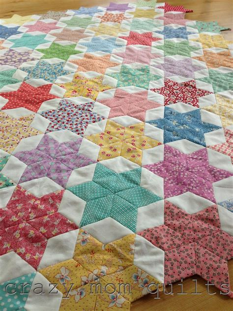 english quilt pattern oh my stars quilt quilt inspiration pinterest crazy