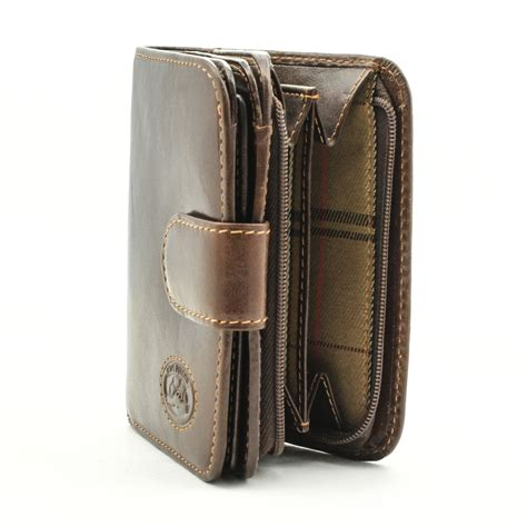 tony perotti italian leather compact clutch wallet with