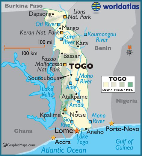 map of togo in africa where is togo africa on a map quotes