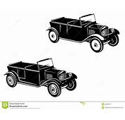 Retro Car Of 1920 1930 Year Stock Vector  Image 29289678