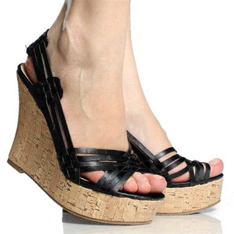 most comfortable high heels 2012 teaming the most effective black wedge shoes modern