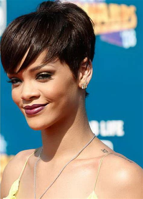 rihanna hairstyles cut rihanna pixie haircut