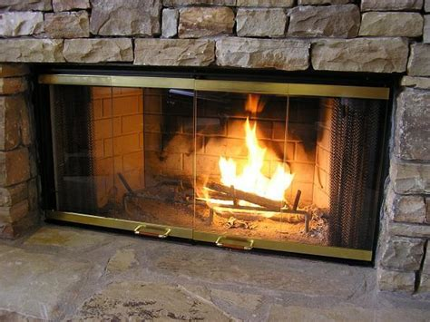 Glass Doors For Heatilator Fireplace Available Finishes