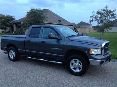 dodge ram 2500 cummins turbo diesel mpg buy used 2004 dodge ram 2500 slt 2004 5 cummins turbo