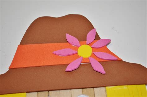 Fall Construction Paper Crafts - scarecrow fall craft for surviving a s salary