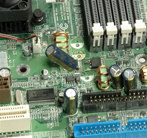 how capacitor works in motherboard equip your motherboard with new capacitors how to fix your motherboard for 15