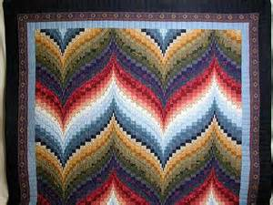 Color wheel bargello quilt great smartly made amish quilts from