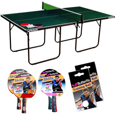 butterfly table tennis set butterfly start sport table tennis set 1340905 table