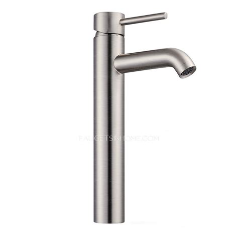 single lever sink faucet silver brushed nickel single lever bathroom sink faucet