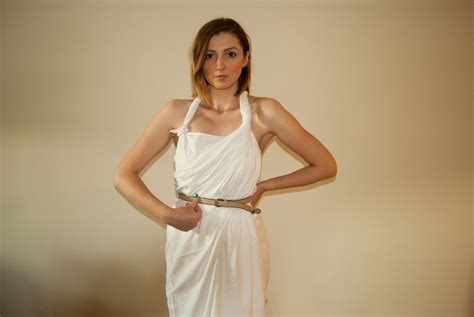 bed sheet toga 2 easy ways to make a female toga with pictures wikihow