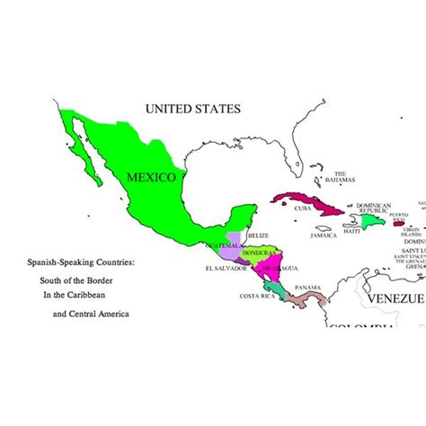 speaking countries in the caribbean names of nationalties in a lesson covering