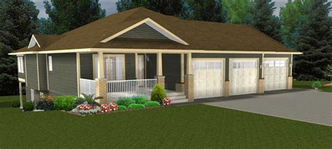 bungalow floor plans with walkout basement walkout basements by e designs 1