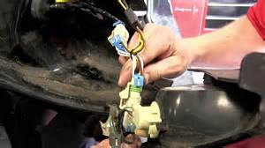 installation of a trailer wiring harness on a 2006 buick