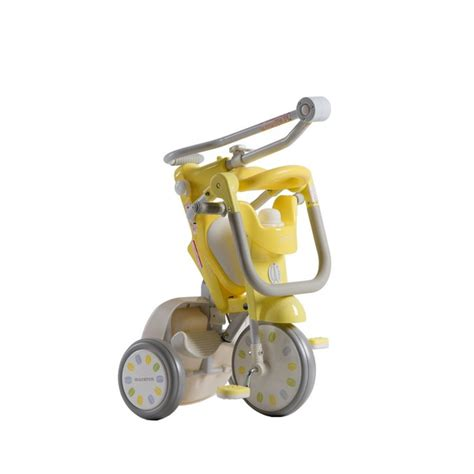 iimo x macaron foldable tricycle trike banana yellow best educational infant toys stores