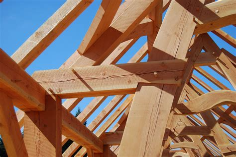 oregon cruck barn collin beggs design build timber