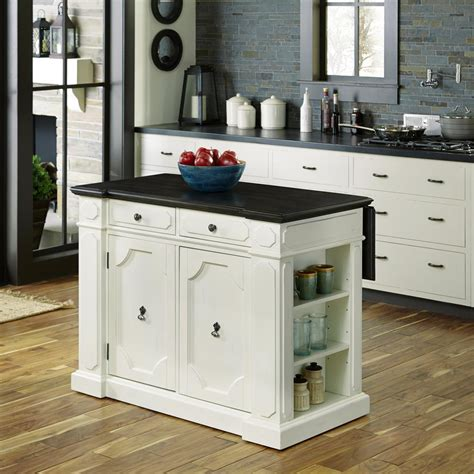 48 kitchen island home styles 48 in w wood americana vintage kitchen island 5000 94 the home depot