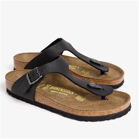 Sendal Sandal Birkenstock Ant Original 91shoes Sandal Pria lyst birkenstock gizeh sandal womens in black