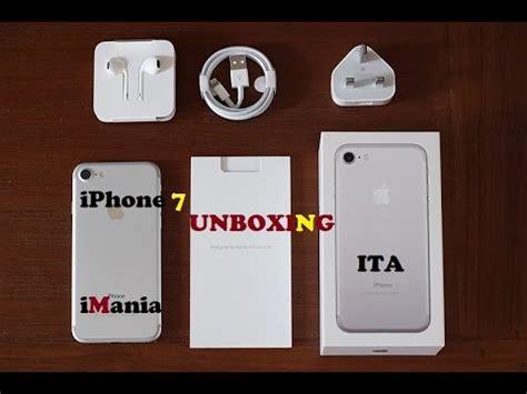 e iphone 7 iphone 7 unboxing cosa c 232 nella scatola ita