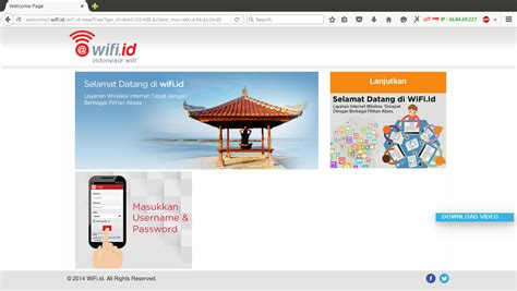 Vocer Wifi Id login wifi id gratis dengan free wifi tugas kuliah