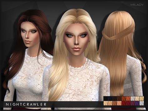 sims 3 hair braid tsr the sims resource over nightcrawler sims nightcrawler milady