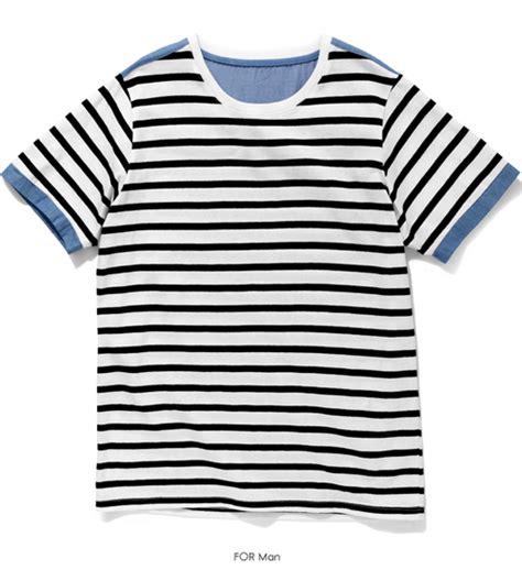 tritotone stripe funnylove tri tone striped set kstylick
