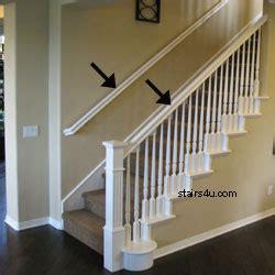 Stair Rails And Banisters Rake Rail Gripable Stair Handrailing