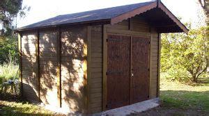 Poser Une Porte De Garage 1710 by Abris De Jardin En B 233 Ton Et B 233 Ton Aspect Bois Sur Mesure
