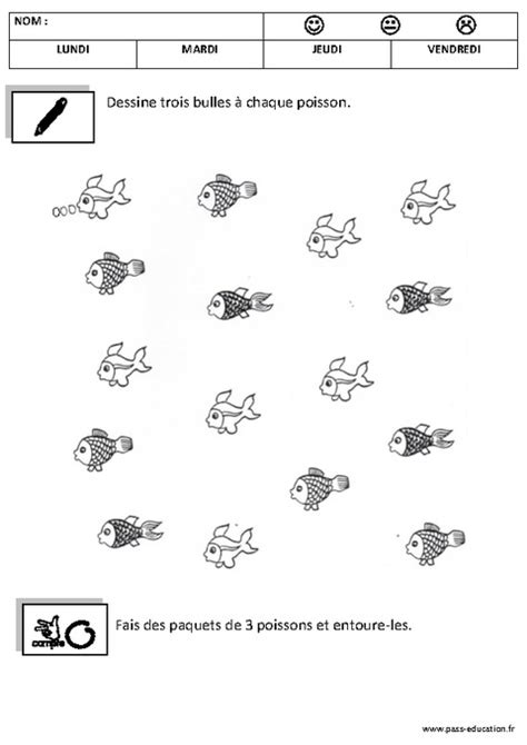 Coloriage Maternelle Petite Sectionll L