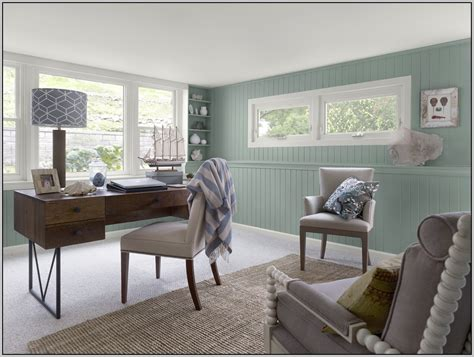 best green paint color for home office of honor