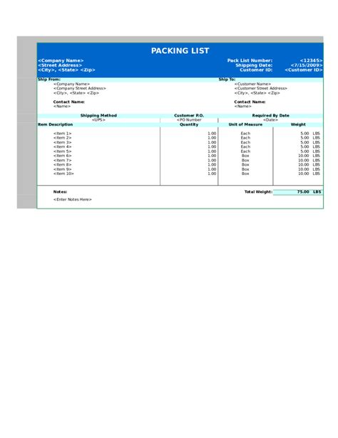 packing slip template docs doc 9001165 packing slip free printable packing list