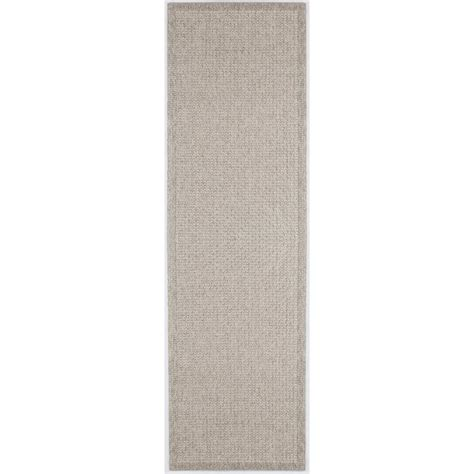 tayse rugs serenity gray 2 ft 6 in x 11 ft runner