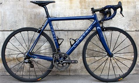 Handcrafted Bicycles - comtat vertice handmade italian road bike look