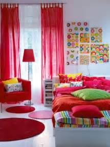 Colorful Teenage Bedroom Ideas and colorful design ideas for decorating teenage girls bedrooms 16