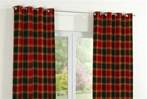 burgundy eyelet curtains eyelet curtains burgundy green check absolute home