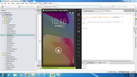 xamarin android unable to run apps in android player using xamarin studio xamarin forums