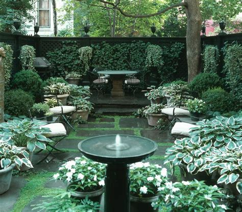 Courtyard Garden Ideas | 26 beautiful townhouse courtyard garden designs digsdigs