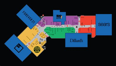 mall of louisiana inside map image gallery la plaza mall map