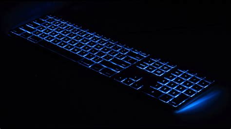 matias introduces  wired aluminum keyboard  rgb