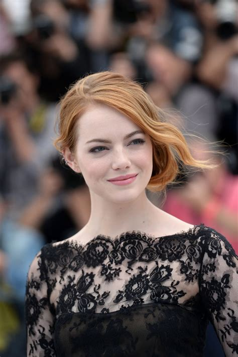 emma stone irrational man emma stone at irrational man photocall in cannes hawtcelebs